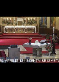 2020. április 12. – Húsvét vasárnap