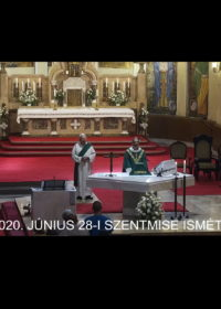 2020. június 28. – Évközi 13. vasárnap