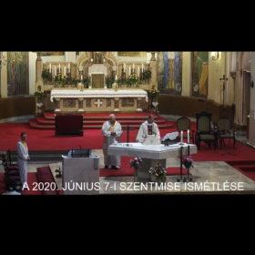 2020. június 7. – Szentháromság vasárnapja