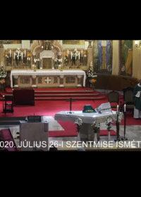 2020. július 26. – Évközi 17. vasárnap