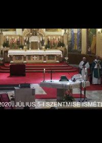 2020. július 7. – Évközi 14. vasárnap