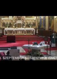 2020. szeptember 6. – Évközi 23. vasárnap