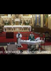 2020. október 11. – Évközi 28. vasárnap