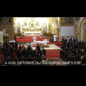 2020. október 25. – Évközi 30. vasárnap