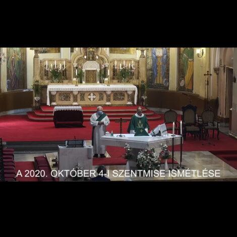 2020. október 4. – Évközi 27. vasárnap