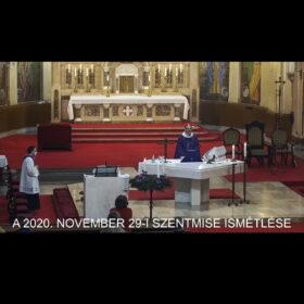 2020. november 29. – Advent I. vasárnapja