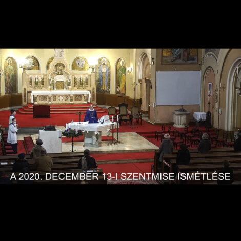 2020. december 13. – Advent III. vasárnapja