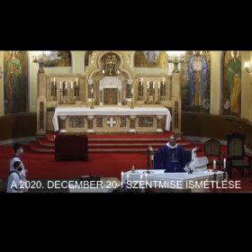 2020. december 20. – Advent IV. vasárnapja