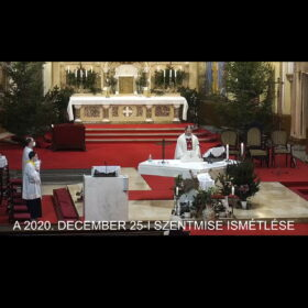 2020. december 25. – Urunk születése; karácsony
