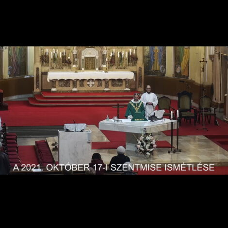 2021. október 17. – Évközi 29. vasárnap
